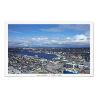 """""""Colors and Clouds"""" Seattle Decor Photo Prints"""