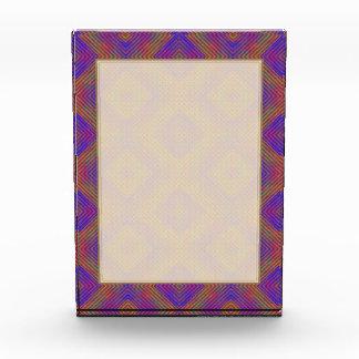 Colors and Diamonds Acrylic Award