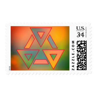 Colors and emotion postage