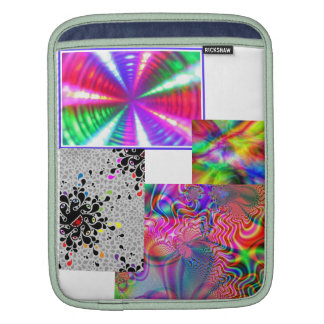 COLORS AND ILLUSIONS iPad SLEEVES