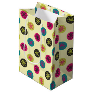 Colors and Snowflakes Medium Gift Bag