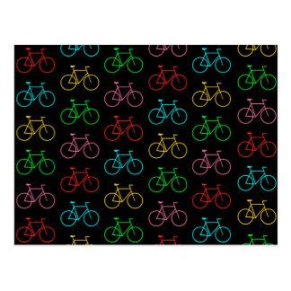 Colors Bike Postcard