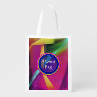 Colors Blending - Personalized All Purpose Bag Market Totes