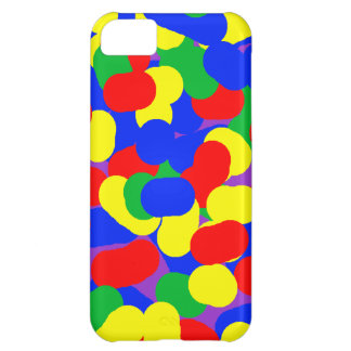 Colors - Blue Green Red Yellow Cover For iPhone 5C