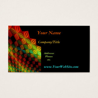 Colors Business Card