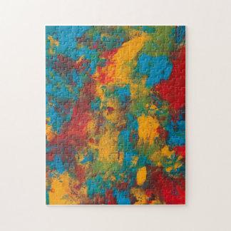 Colors by Kari Sutyla Puzzle