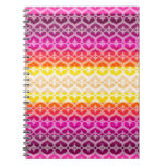Colors collection spiral note book