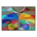 COLORS COLLIDE  #09C/C GREETING CARD