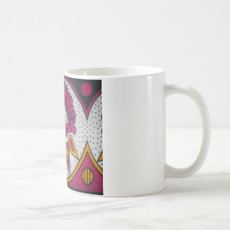 colors cool retro vintage African traditional styl Coffee Mug