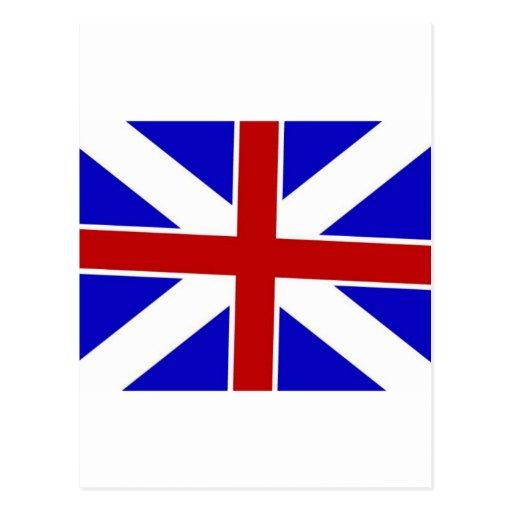 Colors Flag de rey Tarjetas Postales