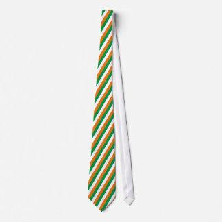 Colors flag Ireland Neck Tie