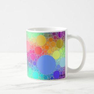 colors gliding classic white coffee mug