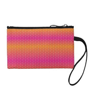 colors gradation polka dot #2 coin wallet
