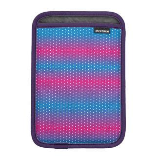 colors gradation polka dot iPad mini sleeve