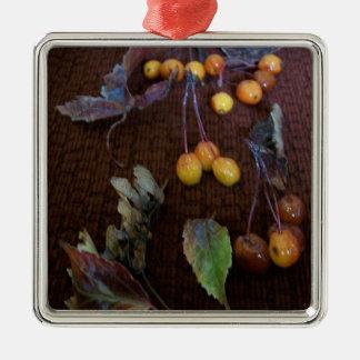 Colors In Autumn Metal Ornament