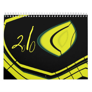 colors in black calendar
