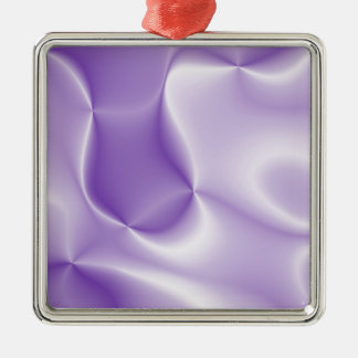 colors in motion, lilac (I) Metal Ornament