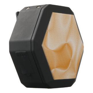 colors in motion,peach (I) Black Bluetooth Speaker