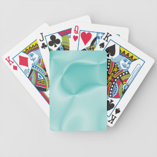 colors in motion,teal (I) Bicycle Playing Cards