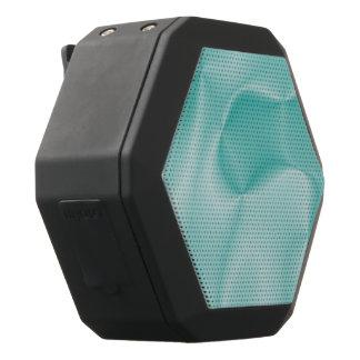 colors in motion,teal (I) Black Bluetooth Speaker