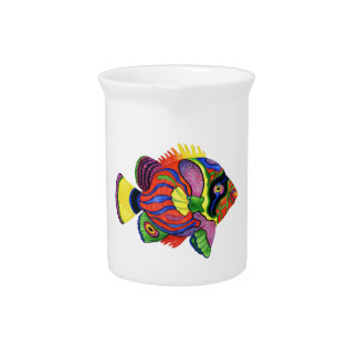 COLORS IN PARADISE DRINK PITCHER