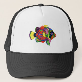 COLORS IN PARADISE TRUCKER HAT