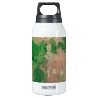Colors in revolt,green 10 oz insulated SIGG thermos water bottle