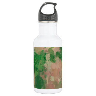 Colors in revolt,green 18oz water bottle