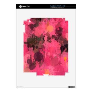 Colors in revolt,pink iPad 2 decals