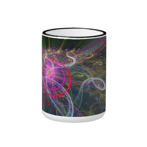Colors in smoke - taza de café