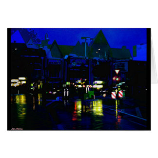 Colors in the Rain Greeting Card