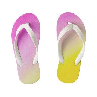 Colors Kids images Kid's Flip Flops