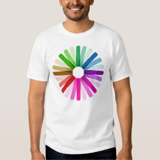 Colors life inspire rainbow love style fashion t shirt