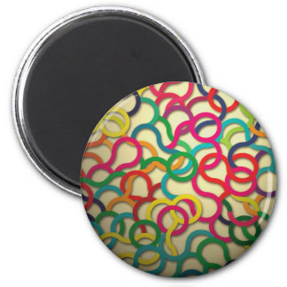 Colors Maganet 2 Inch Round Magnet