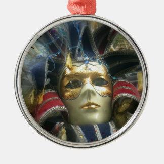 Colors Masquerade Metal Ornament