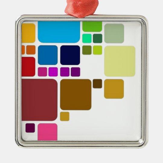 colors metal ornament