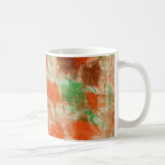 Colors of Autumn Dazzle -- Abstract Art Mug