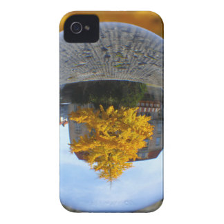 Colors of Autumn Gingko tree, crystal ball iPhone 4 Case-Mate Case