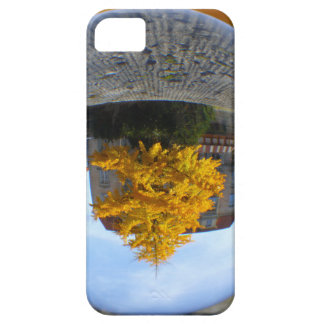 Colors of Autumn Gingko tree, crystal ball iPhone SE/5/5s Case