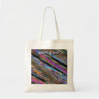 Colors of beer tote bag