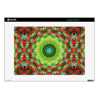 "Colors of Christmas Abstract Skins For 15"" Laptops"