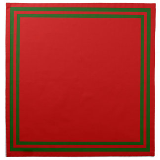 Colors of Christmas Cloth Napkin