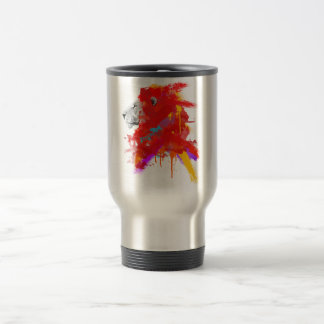 Colors of Courage 15 Oz Stainless Steel Travel Mug