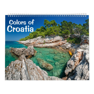 Colors of Croatia photo calendar 2013