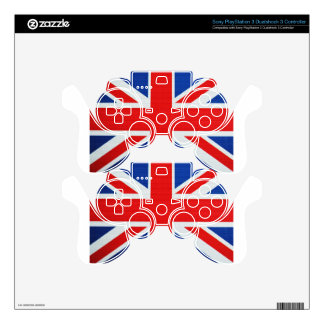 Colors Of England  Brick PS3 Controller Skin