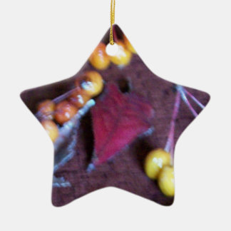Colors Of Fall Ceramic Ornament
