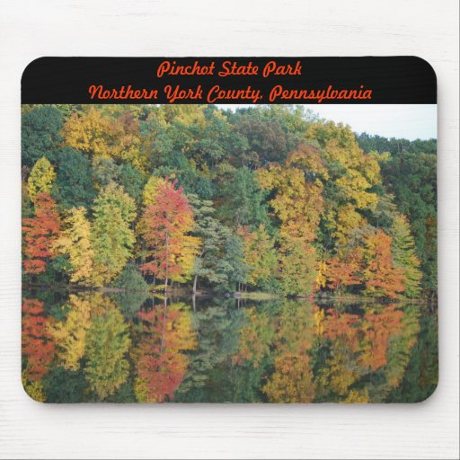 Colors Of Fall Mouse Pad