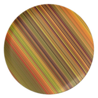 colors of fall plate