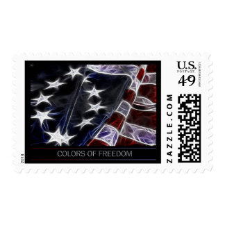 Colors of Freedom Postage