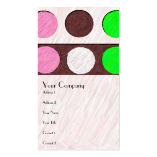 Colors of Ice Cream Double-Sided Standard Business Cards (Pack Of 100)